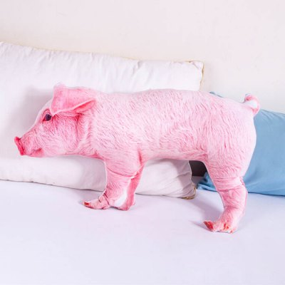 Creative Pink Piggy Shaped Design Throw PillowCarpets &amp; Rugs<br>Creative Pink Piggy Shaped Design Throw Pillow<br><br>Category: Pillow<br>For: Adults, Kids, Teenagers<br>Material: Polyester fibre<br>Occasion: Bedroom, Living Room<br>Package Contents: 1 x Throw Pillow<br>Package size (L x W x H): 60.00 x 50.00 x 10.00 cm / 23.62 x 19.69 x 3.94 inches<br>Package weight: 0.7700 kg<br>Product size (L x W x H): 60.00 x 30.00 x 6.00 cm / 23.62 x 11.81 x 2.36 inches<br>Product weight: 0.7200 kg<br>Type: Comfortable, Entertainment, Leisure, Decoration