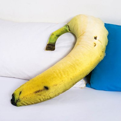 Creative Banana Shaped Design Throw PillowCarpets &amp; Rugs<br>Creative Banana Shaped Design Throw Pillow<br><br>Category: Pillow<br>For: Adults, Kids, Teenagers<br>Material: Polyester fibre<br>Occasion: Bedroom, Living Room<br>Package Contents: 1 x Throw Pillow<br>Package size (L x W x H): 60.00 x 50.00 x 10.00 cm / 23.62 x 19.69 x 3.94 inches<br>Package weight: 0.7500 kg<br>Product size (L x W x H): 74.00 x 35.00 x 5.00 cm / 29.13 x 13.78 x 1.97 inches<br>Product weight: 0.7000 kg<br>Type: Decoration, Entertainment, Comfortable