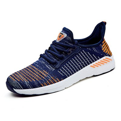 Durable Mesh Sports Shoes for MenMen's Sneakers<br>Durable Mesh Sports Shoes for Men<br><br>Closure Type: Lace-Up<br>Features: Breathable, Durable<br>Highlights: Soft, Breathable<br>Package Contents: 1 x Pair of Shoes<br>Package size: 33.00 x 22.00 x 11.00 cm / 12.99 x 8.66 x 4.33 inches<br>Package weight: 0.6200 kg<br>Product weight: 0.4500 kg<br>Sole Material: Rubber