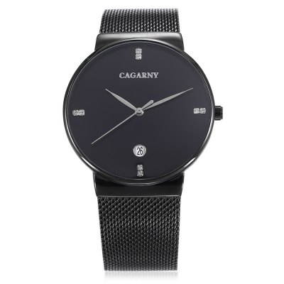 CAGARNY 6817 Quartz Unisex WatchUnisex Watches<br>CAGARNY 6817 Quartz Unisex Watch<br><br>Available Color: Black,Gold<br>Band material: Stainless Steel<br>Band size: 23.5 x 2cm<br>Case material: Alloy<br>Clasp type: Sheet folding clasp<br>Dial size: 4 x 4 x 0.95cm<br>Display type: Analog<br>Movement type: Quartz watch<br>Package Contents: 1 x Watch, 1 x Instructions, 1 x Box<br>Package size (L x W x H): 8.00 x 11.00 x 7.50 cm / 3.15 x 4.33 x 2.95 inches<br>Package weight: 0.1610 kg<br>People: Unisex table<br>Product size (L x W x H): 23.50 x 4.00 x 0.95 cm / 9.25 x 1.57 x 0.37 inches<br>Product weight: 0.0700 kg<br>Shape of the dial: Round<br>Watch style: Fashion<br>Water resistance : 30 meters<br>Wearable length: 21.5 - 23.5cm