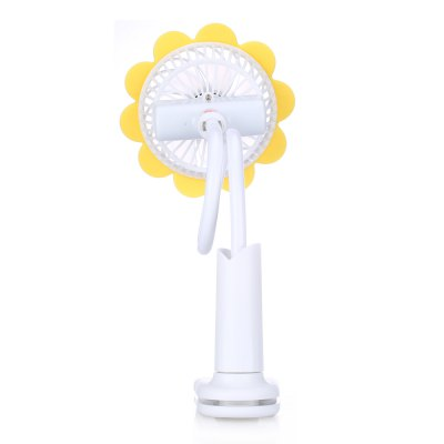 ZW - 298 Creative USB Electric Fan Sunflower ShapeUSB Accessories<br>ZW - 298 Creative USB Electric Fan Sunflower Shape<br><br>Material: ABS<br>Model: ZW - 298<br>Output: 2.5W<br>Package Contents: 1 x ZW - 298 USB Fan, 1 x USB Cable, 1 x English Manual<br>Package size (L x W x H): 13.00 x 12.00 x 9.50 cm / 5.12 x 4.72 x 3.74 inches<br>Package weight: 0.3540 kg<br>Plug: USB<br>Product weight: 0.2800 kg<br>Voltage: 3.7V
