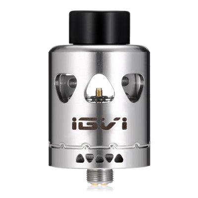 YOSTA IGVI RDARebuildable Atomizers<br>YOSTA IGVI RDA<br><br>Brand: Yosta<br>Material: Stainless Steel, Glass<br>Model: IGVI<br>Package Contents: 1 x Atomizer, 1 x Accessory Bag, 1 x Cotton Bag<br>Package size (L x W x H): 9.50 x 8.20 x 3.50 cm / 3.74 x 3.23 x 1.38 inches<br>Package weight: 0.1600 kg<br>Product size (L x W x H): 2.50 x 2.50 x 4.00 cm / 0.98 x 0.98 x 1.57 inches<br>Product weight: 0.0580 kg<br>Rebuildable Atomizer: RBA,RDA<br>Thread: 510<br>Type: Rebuildable Atomizer, Rebuildable Drippers