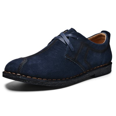 Lace-up Suede Shoes for MenCasual Shoes<br>Lace-up Suede Shoes for Men<br><br>Contents: 1 x Pair of Shoes<br>Materials: Rubber, Suede<br>Occasion: Casual<br>Package Size ( L x W x H ): 33.00 x 22.00 x 11.00 cm / 12.99 x 8.66 x 4.33 inches<br>Package Weights: 0.87kg<br>Seasons: Autumn,Spring,Summer<br>Style: Leisure, Fashion, Comfortable<br>Type: Casual Shoes