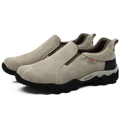 Men Suede Shoes for Climbing / Hiking