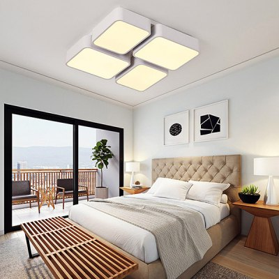Creative LED Square Shape Ceiling Light 220VFlush Ceiling Lights<br>Creative LED Square Shape Ceiling Light 220V<br><br>Illumination Field: 15 - 20sqm<br>Luminous Flux: 4400lm<br>Optional Light Color: Natural White,Warm White + White<br>Package Contents: 1 x Ceiling Light, 1 x Set of Install Accessory, 1 x Remote Controller<br>Package size (L x W x H): 64.00 x 64.00 x 15.00 cm / 25.2 x 25.2 x 5.91 inches<br>Package weight: 6.0500 kg<br>Product size (L x W x H): 57.00 x 57.00 x 8.00 cm / 22.44 x 22.44 x 3.15 inches<br>Product weight: 5.0000 kg<br>Sheathing Material: Acrylic<br>Type: Ceiling Lights<br>Voltage (V): 220V<br>Wattage (W): 48W<br>Wavelength / CCT: 3000K,4000K,6500K