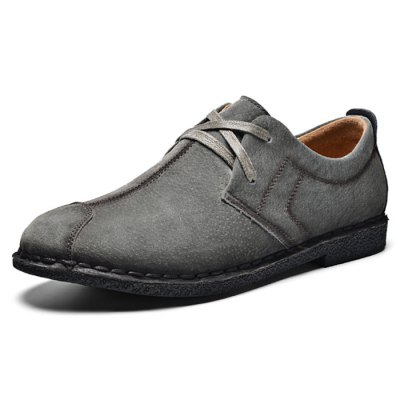 Lace-up Suede Shoes for Men