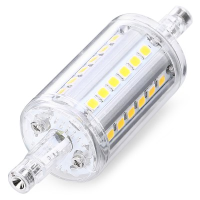 YouOKLight 2PCS R7S 36 LEDs Corn Bulb AC 100 - 265VCorn Bulbs<br>YouOKLight 2PCS R7S 36 LEDs Corn Bulb AC 100 - 265V<br><br>Available Light Color: Warm White<br>Brand: YouOKLight<br>CCT/Wavelength: 3000K<br>Emitter Types: SMD 2835<br>Features: Long Life Expectancy, Energy Saving<br>Function: Studio and Exhibition Lighting, Home Lighting, Commercial Lighting<br>Holder: R7S<br>Luminous Flux: 450Lm<br>Package Contents: 2 x YouOKLight R7S 36 LEDs Corn Bulb<br>Package size (L x W x H): 7.00 x 3.50 x 9.00 cm / 2.76 x 1.38 x 3.54 inches<br>Package weight: 0.8000 kg<br>Product size (L x W x H): 2.50 x 2.50 x 8.00 cm / 0.98 x 0.98 x 3.15 inches<br>Product weight: 0.0250 kg<br>Sheathing Material: Aluminum, Plastic<br>Total Emitters: 36<br>Type: Corn Bulbs<br>Voltage (V): AC 100-265V