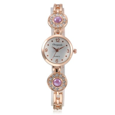 CYD Chaoyada 8014 Women Chain WatchWomens Watches<br>CYD Chaoyada 8014 Women Chain Watch<br><br>Band material: Steel + Alloy<br>Band size: 20 x 0.6cm<br>Case material: Steel<br>Clasp type: Sheet folding clasp<br>Dial size: 2.4 x 2.4 x 0.8cm<br>Display type: Analog<br>Movement type: Quartz watch<br>Package Contents: 1 x Watch, 1 x Box<br>Package size (L x W x H): 8.50 x 8.00 x 5.50 cm / 3.35 x 3.15 x 2.17 inches<br>Package weight: 0.0810 kg<br>Product size (L x W x H): 20.00 x 2.40 x 0.80 cm / 7.87 x 0.94 x 0.31 inches<br>Product weight: 0.0250 kg<br>Shape of the dial: Round<br>Watch style: Fashion<br>Watches categories: Women<br>Water resistance : Life water resistant