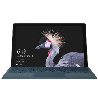 Microsoft New Surface Pro Intel Core m3-7Y30Tablet PCs<br>Microsoft New Surface Pro Intel Core m3-7Y30<br><br>3.5mm Headphone Jack: Yes<br>Additional Features: Proximity Sensing System, Light Sensing System, MP4, Wi-Fi, Calendar, Calculator, Browser, Gravity Sensing System, MP3, Alarm, Bluetooth, Compass<br>Back camera: 8.0MP<br>Battery / Run Time (up to): 13.0 hours video playing time<br>Battery Capacity(mAh): 45000mAh, Li-ion polymer<br>Bluetooth: 4.0<br>Brand: Microsoft<br>Camera type: Dual cameras (one front one back)<br>Charging LED Light: Supported<br>Core: Dual Core, 0.9GHz<br>CPU: Intel Kaby Lake Core M3-7Y30<br>CPU Brand: Intel<br>External Memory: TF card up to 64GB (not included)<br>Front camera: 5.0MP<br>G-sensor: Supported<br>GPS: Yes<br>GPU: Intel HD Graphics 615<br>Material of back cover: Magnesium Aluminum Alloy<br>MIC: Supported<br>Mini DP Port: Yes<br>MS Office format: Word, PPT, Excel<br>Music format: WMA, OGG, MP3, APE, AAC<br>OS: Windows 10<br>Package size: 33.30 x 24.00 x 6.00 cm / 13.11 x 9.45 x 2.36 inches<br>Package weight: 1.6670 kg<br>Picture format: PNG, JPEG, GIF, BMP, JPG<br>Power Adapter: 1<br>Pre-installed Language: Windows OS is built-in Chinese and English, and other languages need to be downloaded by WiFi.<br>Product size: 29.20 x 20.10 x 0.85 cm / 11.5 x 7.91 x 0.33 inches<br>Product weight: 0.7680 kg<br>RAM: 4GB<br>ROM: 128GB<br>Screen resolution: 2736 x 1824<br>Screen size: 12.3 inch<br>Screen type: Capacitive (10-Point)<br>Skype: Supported<br>Speaker: Dolby Audio Premium<br>Support Network: Dual WiFi 2.4GHz/5.0GHz<br>Tablet PC: 1<br>TF card slot: Yes<br>Type: Tablet PC<br>USB Host: Yes (USB 3.0)<br>Video format: H.264, MP4, MPEG2, MPEG4, VP8, H.265, VP9, WMV, AVI, 3GP, MKV<br>Video recording: Yes<br>WIDI: Supported<br>WIFI: 802.11 a/b/g/n/ac wireless internet<br>Youtube: Supported