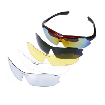 Robesbon 10pcs Anti-slip Cycling Glasses with PC LensCycling Sunglasses<br>Robesbon 10pcs Anti-slip Cycling Glasses with PC Lens<br><br>Brand: ROBESBON<br>Features: Replaceable Lens, UV400, with Myopic Frame<br>Gender: Unisex<br>Package Contents: 1 x Robesbon Cycling Glasses, 4 x Spare PC Lens, 1 x Lanyard, 1 x Cleaning Cloth, 1 x Myopia Frame, 1 x Storage Bag, 1 x Box, 1 x English User Manual<br>Package Size(L x W x H): 20.00 x 13.00 x 8.00 cm / 7.87 x 5.12 x 3.15 inches<br>Package weight: 0.2210 kg<br>Product Size(L x W x H): 15.50 x 17.00 x 4.50 cm / 6.1 x 6.69 x 1.77 inches<br>Product weight: 0.0300 kg<br>Suitable for: Hiking, Cycling, Traveling