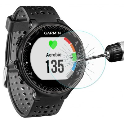 Hat Prince Tempered Glass Screen Protector for Garmin Forerunner 235
