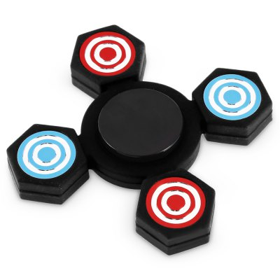 Four-blade ABS Fidget SpinnerFidget Spinners<br>Four-blade ABS Fidget Spinner<br><br>Center Bearing Material: Stainless Steel<br>Color: Black<br>Frame material: ABS<br>Package Contents: 1 x Fidget Spinner<br>Package size (L x W x H): 9.00 x 9.00 x 1.50 cm / 3.54 x 3.54 x 0.59 inches<br>Package weight: 0.0550 kg<br>Product size (L x W x H): 6.80 x 6.80 x 1.30 cm / 2.68 x 2.68 x 0.51 inches<br>Product weight: 0.0310 kg<br>Swing Numbers: Quad Bar<br>Type: Quad  Blade