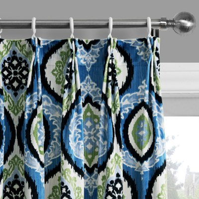 Ink-jet Printing Delicate Pattern Window Curtains 52 x 96 inchWindow Treatments<br>Ink-jet Printing Delicate Pattern Window Curtains 52 x 96 inch<br><br>Category: Curtain<br>For: All<br>Material: Polyester fibre<br>Occasion: Bedroom, Dining Room, Living Room<br>Package Contents: 2 x Window Curtain Panel, 2 x Tieback<br>Package size (L x W x H): 70.00 x 50.00 x 2.50 cm / 27.56 x 19.69 x 0.98 inches<br>Package weight: 2.1300 kg<br>Product weight: 2.0000 kg<br>Type: Eco-friendly, Fashion, Decoration