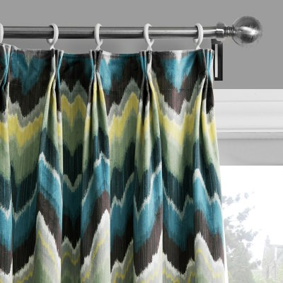 Ink-jet Printing Wave Pattern Window Curtains 52 x 84 inchWindow Treatments<br>Ink-jet Printing Wave Pattern Window Curtains 52 x 84 inch<br><br>Category: Curtain<br>For: All<br>Material: Polyester fibre<br>Occasion: Living Room, Dining Room, Bedroom<br>Package Contents: 2 x Window Curtain Panel, 2 x Tieback<br>Package size (L x W x H): 70.00 x 50.00 x 2.50 cm / 27.56 x 19.69 x 0.98 inches<br>Package weight: 2.0300 kg<br>Product weight: 1.9000 kg