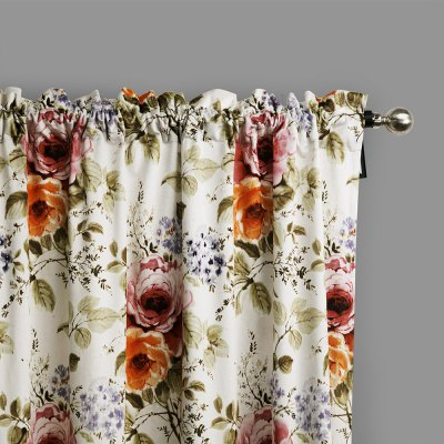 Ink-jet Printing Elegant Flowers Window Curtains 52 x 84 inchWindow Treatments<br>Ink-jet Printing Elegant Flowers Window Curtains 52 x 84 inch<br><br>Category: Curtain<br>For: All<br>Material: Polyester fibre<br>Occasion: Bedroom, Dining Room, Living Room<br>Package Contents: 2 x Window Curtain Panel, 2 x Tieback<br>Package size (L x W x H): 70.00 x 50.00 x 2.50 cm / 27.56 x 19.69 x 0.98 inches<br>Package weight: 2.0300 kg<br>Product weight: 1.9000 kg<br>Type: Eco-friendly, Fashion, Decoration