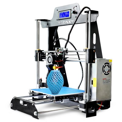 Tronxy T819 Full Sheet-metal Structure 3D Printer DIY Kit3D Printers, 3D Printer Kits<br>Tronxy T819 Full Sheet-metal Structure 3D Printer DIY Kit<br><br>Brand: Tronxy<br>File format: G-code, STL<br>Frame material: Sheet-metal structure<br>Host computer software: Cura,Repetier-Host<br>Language: English,Russian,Spanish<br>Layer thickness: 0.1-0.4mm<br>LCD Screen: Yes<br>Material diameter: 1.75mm<br>Memory card offline print: SD card<br>Model: T819<br>Nozzle diameter: 0.4mm<br>Nozzle temperature: 170-275 Degree<br>Package size: 48.70 x 36.20 x 18.00 cm / 19.17 x 14.25 x 7.09 inches<br>Package weight: 8.2000 kg<br>Packing Contents: 1 x Tronxy T819 Full Sheet-metal Structure 3D Printer DIY Kit<br>Packing Type: unassembled packing<br>Platform board: Aluminum Sheet<br>Platform temperature: Room temperature to 110 degree<br>Print speed: 20 - 150mm/s<br>Product forming size: Max 220 x 220 x 240mm<br>Product size: 50.00 x 40.00 x 43.00 cm / 19.69 x 15.75 x 16.93 inches<br>Product weight: 8.0000 kg<br>Supporting material: PLA, Wood, PVC, PC, ABS, HIPS<br>System support: Mac, Win7, XP<br>Type: DIY<br>Voltage: 110V/220V<br>XY-axis positioning accuracy: 0.012mm<br>Z-axis positioning accuracy: 0.004mm