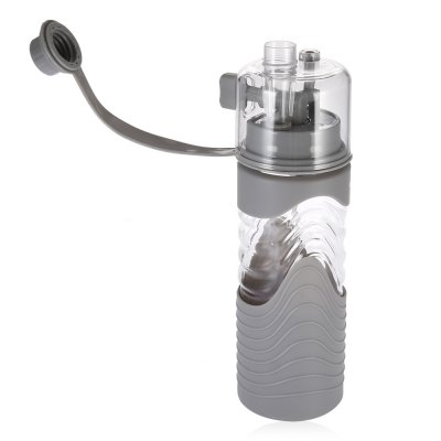 600ML Portable Sports Spray Cup Leakproof Water BottleLids &amp; Bottle Caps<br>600ML Portable Sports Spray Cup Leakproof Water Bottle<br><br>Package Contents: 1 x Sports Spray Cup<br>Package Size(L x W x H): 10.00 x 10.00 x 27.00 cm / 3.94 x 3.94 x 10.63 inches<br>Package weight: 0.2900 kg<br>Product Size(L x W x H): 7.30 x 7.30 x 25.70 cm / 2.87 x 2.87 x 10.12 inches<br>Product weight: 0.2300 kg