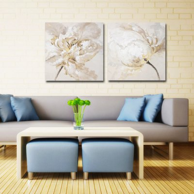 Canvas Oil Painting Abstract Flower Hand PaintedOil Paintings<br>Canvas Oil Painting Abstract Flower Hand Painted<br><br>Brand: YHHP<br>Form: Two Panels<br>Package Quantity: 1 x Painting Set<br>Package size (L x W x H): 62.50 x 8.00 x 62.50 cm / 24.61 x 3.15 x 24.61 inches<br>Package weight: 2.3000 kg<br>Product size (L x W x H): 60.00 x 3.00 x 60.00 cm / 23.62 x 1.18 x 23.62 inches<br>Product weight: 1.5000 kg<br>Shape: Square<br>Theme: Flower / Plant
