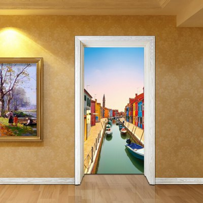 MT034 3D PVC Venice Burano Canal Door StickerWall Stickers<br>MT034 3D PVC Venice Burano Canal Door Sticker<br><br>Material: Vinyl(PVC)<br>Package Contents: 1 x Door Sticker<br>Package size (L x W x H): 42.00 x 3.40 x 3.40 cm / 16.54 x 1.34 x 1.34 inches<br>Package weight: 0.5200 kg<br>Product size (L x W x H): 77.00 x 200.00 x 1.00 cm / 30.31 x 78.74 x 0.39 inches<br>Product weight: 0.4900 kg