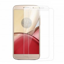 Naxtop 2PCS 0.3mm Tempered Glass for Moto M