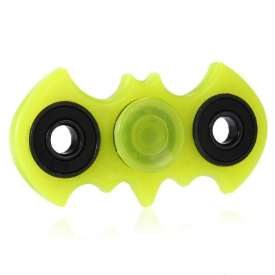 Bat Shape Plastic Fidget Spinner with SupporterFidget Spinners<br>Bat Shape Plastic Fidget Spinner with Supporter<br><br>Center Bearing Material: Stainless Steel<br>Color: Green<br>Frame material: Plastic<br>Package Contents: 1 x Fidget Spinner<br>Package size (L x W x H): 9.00 x 9.00 x 1.40 cm / 3.54 x 3.54 x 0.55 inches<br>Package weight: 0.0680 kg<br>Product size (L x W x H): 8.20 x 4.30 x 1.20 cm / 3.23 x 1.69 x 0.47 inches<br>Product weight: 0.0430 kg<br>Swing Numbers: Dual Bar<br>Type: Bat