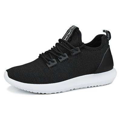 Breathable Lace-up Sports Shoes for MenCasual Shoes<br>Breathable Lace-up Sports Shoes for Men<br><br>Contents: 1 x Pair of Shoes<br>Materials: Fabric, MD<br>Occasion: Casual, Daily, Running, Sports<br>Package Size ( L x W x H ): 33.00 x 22.00 x 11.00 cm / 12.99 x 8.66 x 4.33 inches<br>Package Weights: 0.77kg<br>Seasons: Autumn,Spring,Summer<br>Style: Fashion, Leisure, Comfortable<br>Type: Casual Shoes