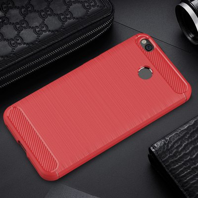 ASLING Brushed Finish Soft Phone Case for Xiaomi Redmi 4XCases &amp; Leather<br>ASLING Brushed Finish Soft Phone Case for Xiaomi Redmi 4X<br><br>Brand: ASLING<br>Compatible Model: Redmi 4X<br>Features: Anti-knock, Back Cover<br>Mainly Compatible with: Xiaomi<br>Material: Carbon Fiber, TPU<br>Package Contents: 1 x Phone Case<br>Package size (L x W x H): 23.00 x 13.00 x 2.00 cm / 9.06 x 5.12 x 0.79 inches<br>Package weight: 0.0480 kg<br>Product Size(L x W x H): 14.20 x 7.30 x 1.00 cm / 5.59 x 2.87 x 0.39 inches<br>Product weight: 0.0220 kg<br>Style: Pattern, Modern