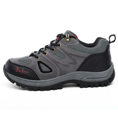 Fashion Outdoor Leisure Shoes for MenHiking Shoes<br>Fashion Outdoor Leisure Shoes for Men<br><br>Closure Type: Lace-Up<br>Contents: 1 x Pair of Shoes<br>Materials: Rubber, Suede<br>Occasion: Riding, Rainy Day, Casual<br>Outsole Material: Rubber<br>Package Size ( L x W x H ): 33.00 x 22.00 x 11.00 cm / 12.99 x 8.66 x 4.33 inches<br>Package Weights: 1.07kg<br>Seasons: Autumn,Spring<br>Style: Leisure, Comfortable<br>Type: Hiking Shoes