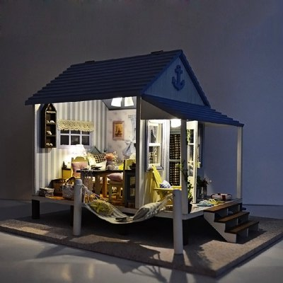 Wooden Seaside Villa DIY KitDoll House<br>Wooden Seaside Villa DIY Kit<br><br>Completeness: Semi-finished Product<br>Gender: Unisex<br>Materials: Electronic Components, Wood<br>Package Contents: 1 x Miniature House DIY Kit<br>Package size: 30.00 x 27.00 x 8.00 cm / 11.81 x 10.63 x 3.15 inches<br>Package weight: 1.2400 kg<br>Product size: 30.00 x 26.50 x 21.50 cm / 11.81 x 10.43 x 8.46 inches<br>Product weight: 1.1000 kg<br>Theme: Other