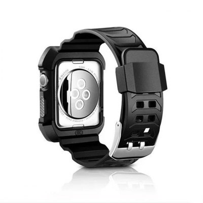 Watchband Protective Case for Apple Watch 42mmApple Watch Bands<br>Watchband Protective Case for Apple Watch 42mm<br><br>Function: for Apple Watch 42mm<br>Material: Resin<br>Package Contents: 1 x Watchband<br>Package size: 31.00 x 5.00 x 1.50 cm / 12.2 x 1.97 x 0.59 inches<br>Package weight: 0.0520 kg<br>Product size: 30.00 x 4.00 x 0.40 cm / 11.81 x 1.57 x 0.16 inches<br>Product weight: 0.0300 kg