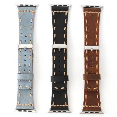 Cowhide Leather Watchband for Apple Watch 38mmApple Watch Bands<br>Cowhide Leather Watchband for Apple Watch 38mm<br><br>Function: for Apple Watch 38mm<br>Material: Genuine Leather<br>Package Contents: 1 x Watchband<br>Package size: 21.00 x 4.00 x 1.50 cm / 8.27 x 1.57 x 0.59 inches<br>Package weight: 0.0570 kg<br>Product size: 20.00 x 3.00 x 0.20 cm / 7.87 x 1.18 x 0.08 inches<br>Product weight: 0.0350 kg