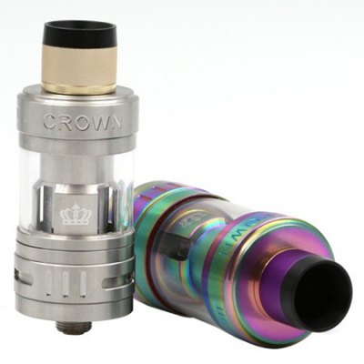 Uwell Crown III MINI Tank 2ml / 4.5mlClearomizers<br>Uwell Crown III MINI Tank 2ml / 4.5ml<br><br>Brand: Uwell<br>Material: Stainless Steel, Glass<br>Model: Crown III MINI<br>Package Contents: 1 x Crown III Mini Atomizer, 1 x Extra Quartz Glass, 1 x 0.25 ohm Coil, 1 x Extra Rubber O-ring, 1 x English User Manual, 1 x Drip Tip Cover<br>Package size (L x W x H): 12.00 x 7.00 x 3.00 cm / 4.72 x 2.76 x 1.18 inches<br>Package weight: 0.1450 kg<br>Product size (L x W x H): 5.80 x 2.26 x 2.26 cm / 2.28 x 0.89 x 0.89 inches<br>Product weight: 0.0560 kg<br>Resistance : 0.4 ohm / 0.25 ohm<br>Tank Capacity: 2.0ml,4.5ml<br>Thread: 510<br>Type: Tank Atomizer, Clearomizer