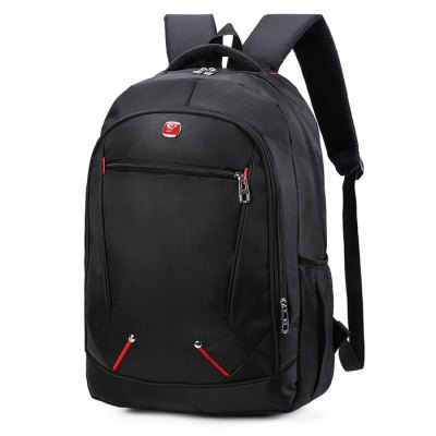 Outdoor Fashion Multifunctional 17 inch Nylon BackpackBackpacks<br>Outdoor Fashion Multifunctional 17 inch Nylon Backpack<br><br>Closure Type: Zip<br>Material: Nylon, Polyester<br>Package Size(L x W x H): 32.00 x 22.00 x 50.00 cm / 12.6 x 8.66 x 19.69 inches<br>Package weight: 0.6600 kg<br>Packing List: 1 x Multifunctional Backpack<br>Product Size(L x W x H): 30.00 x 20.00 x 45.00 cm / 11.81 x 7.87 x 17.72 inches<br>Product weight: 0.6000 kg<br>Style: Fashion, Casual<br>Type: Backpacks