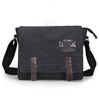 SIMU Retro Nylon Canvas Business Shoulder BagMens Bags<br>SIMU Retro Nylon Canvas Business Shoulder Bag<br><br>Brand: SIMU<br>Closure Type: Zip<br>Material: Canvas, Nylon<br>Package Size(L x W x H): 32.00 x 26.00 x 11.00 cm / 12.6 x 10.24 x 4.33 inches<br>Package weight: 0.8500 kg<br>Packing List: 1 x Bag<br>Product Size(L x W x H): 31.00 x 25.00 x 10.00 cm / 12.2 x 9.84 x 3.94 inches<br>Product weight: 0.8000 kg<br>Shape: Casual Clutch<br>Style: Casual, Business<br>Type: Shoulder bag, Handbag