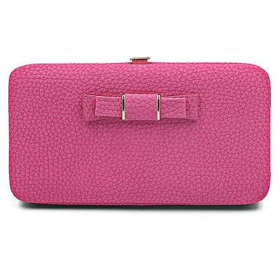Fashionable Frosted PU Leather Women Wallet