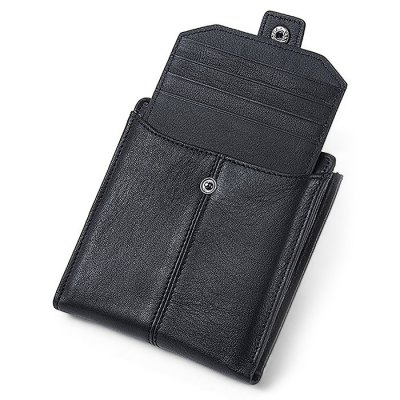 Vintage Genuine Leather Money Clip Men WalletMens Bags<br>Vintage Genuine Leather Money Clip Men Wallet<br><br>Closure Type: Snap Fastener, Zip<br>Material: Genuine Leather<br>Package Size(L x W x H): 12.00 x 3.00 x 13.00 cm / 4.72 x 1.18 x 5.12 inches<br>Package weight: 0.0900 kg<br>Packing List: 1 x Wallet<br>Product Size(L x W x H): 11.00 x 2.50 x 12.00 cm / 4.33 x 0.98 x 4.72 inches<br>Product weight: 0.0600 kg<br>Style: Classics<br>Type: Wallet