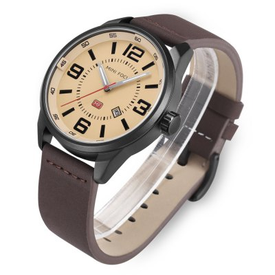 MINI FOCUS MF0051 Male Quartz WatchMens Watches<br>MINI FOCUS MF0051 Male Quartz Watch<br><br>Band material: Genuine Leather<br>Band size: 2.48 x 22cm<br>Brand: MINI FOCUS<br>Case material: Alloy<br>Clasp type: Buckle<br>Dial size: 4.6 x 4.6 x 1.2cm<br>Movement type: Quartz watch<br>Package Contents: 1 x MINI FOCUS Watch<br>Package size (L x W x H): 25.00 x 5.00 x 1.50 cm / 9.84 x 1.97 x 0.59 inches<br>Package weight: 0.0840 kg<br>Product size (L x W x H): 22.00 x 4.60 x 1.20 cm / 8.66 x 1.81 x 0.47 inches<br>Product weight: 0.0640 kg<br>Shape of the dial: Round<br>Watch style: Fashion<br>Watches categories: Men
