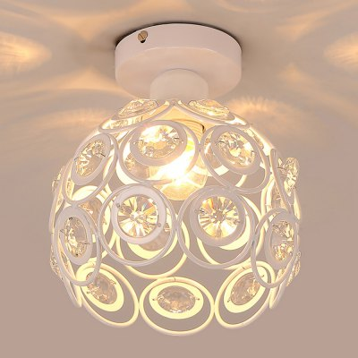 YQ6623 - 1X  White Crystal Ceiling Light 220 - 240V helen abelle marital rape as a violation of the fundamental human rights of women