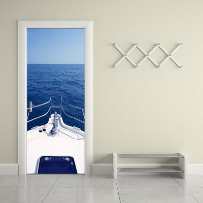 DM056 3D Self Adhesive Motor Yacht in Ocean Door StickerWall Stickers<br>DM056 3D Self Adhesive Motor Yacht in Ocean Door Sticker<br><br>Color Scheme: Multicolor<br>Material: Vinyl(PVC)<br>Package Contents: 1 x Door Sticker<br>Package size (L x W x H): 42.00 x 3.40 x 3.40 cm / 16.54 x 1.34 x 1.34 inches<br>Package weight: 0.5200 kg<br>Product size (L x W x H): 77.00 x 200.00 x 1.00 cm / 30.31 x 78.74 x 0.39 inches<br>Product weight: 0.4900 kg