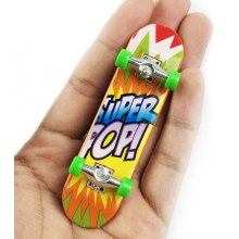 Mini Desktop Toy Skateboard with Various Pictures
