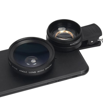 Topaul MSTK0010 Photography KitiPhone Lenses<br>Topaul MSTK0010 Photography Kit<br><br>Brand: topaul<br>Lens type: Macro Lens,Wide-Angle-Lens<br>Magnification ?Wide Angle Lens ): 0.45X<br>Material: Metal, Optical glass<br>Package Contents: 1 x Wide Angle Lens, 1 x Macro Lens, 1 x Selfie Stick, 1 x Bluetooth Shutter Adapter, 2 x Lens Case, 1 x Clip<br>Package size (L x W x H): 17.00 x 14.00 x 5.00 cm / 6.69 x 5.51 x 1.97 inches<br>Package weight: 0.2450 kg<br>Product weight: 0.1710 kg