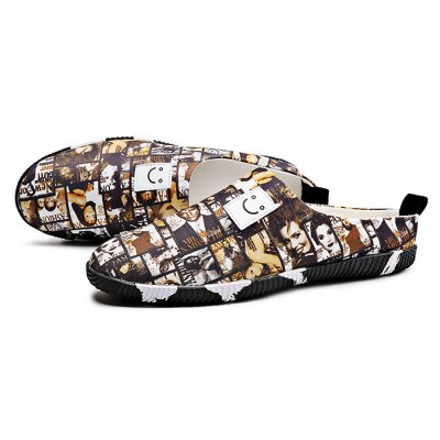 Stylish Canvas Shoes / Slippers for MenMens Slippers<br>Stylish Canvas Shoes / Slippers for Men<br><br>Contents: 1 x Pair of Shoes<br>Decoration: Stripe<br>Materials: Canvas, Rubber<br>Outsole Material: Rubber<br>Package Size ( L x W x H ): 33.00 x 22.00 x 11.00 cm / 12.99 x 8.66 x 4.33 inches<br>Package Weights: 0.57kg<br>Style: Leisure, Casual<br>Type: Casual Shoes<br>Upper Material: Canvas
