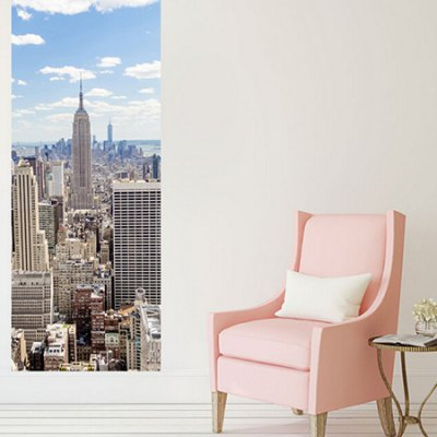 DM025 3D Self Adhesive New York Manhattan Door StickerWall Stickers<br>DM025 3D Self Adhesive New York Manhattan Door Sticker<br><br>Color Scheme: Multicolor<br>Material: Vinyl(PVC)<br>Package Contents: 1 x Door Sticker<br>Package size (L x W x H): 42.00 x 3.40 x 3.40 cm / 16.54 x 1.34 x 1.34 inches<br>Package weight: 0.5200 kg<br>Product size (L x W x H): 77.00 x 200.00 x 1.00 cm / 30.31 x 78.74 x 0.39 inches<br>Product weight: 0.4900 kg