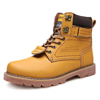 Plus Size High Top Martin Boots for MenMens Boots<br>Plus Size High Top Martin Boots for Men<br><br>Closure Type: Lace-Up, Lace-Up<br>Contents: 1 x Pair of Boots, 1 x Pair of Boots<br>Function: Puncture Resistant, Puncture Resistant<br>Materials: Genuine Leather, Rubber, Genuine Leather, Rubber<br>Occasion: Casual, Holiday, Holiday, Casual<br>Outsole Material: Rubber, Rubber<br>Package Size ( L x W x H ): 33.50 x 22.00 x 18.00 cm / 13.19 x 8.66 x 7.09 inches, 33.50 x 22.00 x 18.00 cm / 13.19 x 8.66 x 7.09 inches<br>Package Weights: 1.20kg, 1.20kg<br>Seasons: Autumn,Spring, Autumn,Spring<br>Size: 39, 39<br>Style: Casual, Leisure, Leisure, Casual<br>Type: Boots<br>Upper Material: Leather, Leather