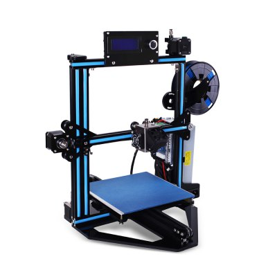Zonestar Z5F Fast Installation DIY 3D Printer Kit3D Printers, 3D Printer Kits<br>Zonestar Z5F Fast Installation DIY 3D Printer Kit<br><br>Brand: ZONESTAR<br>Certificate: CE,FCC,RoHs<br>File format: STL, OBJ, G-code<br>Layer thickness: 0.1-0.36mm<br>LCD Screen: Yes<br>Material diameter: 1.75mm<br>Memory card offline print: SD card<br>Model: Z5F<br>Nozzle diameter: 0.4mm<br>Package size: 50.00 x 50.00 x 20.00 cm / 19.69 x 19.69 x 7.87 inches<br>Package weight: 8.5000 kg<br>Packing Contents: 1 x Main Framework Set, 1 x Printing Platform Set, 1 x Base Board Set, 1 x Controller Subassembly Set, 1 x LCD Screen, 1 x Extruder Subassembly Set, 1 x Screwdriver Set, 1 x Diagonal Pliers, 1 x Tweez<br>Packing Type: unassembled packing<br>Print speed: 150mm/s<br>Product forming size: 220 x 220 x 220mm<br>Product size: 46.00 x 42.00 x 42.00 cm / 18.11 x 16.54 x 16.54 inches<br>Product weight: 7.0000 kg<br>Supporting material: Flexible PLA, HIPS, ABS, PETG, PLA, PVA, Wood<br>System support: Mac.,  Linux, Windows<br>Type: DIY<br>XY-axis positioning accuracy: 0.012mm<br>Z-axis positioning accuracy: 0.0025mm