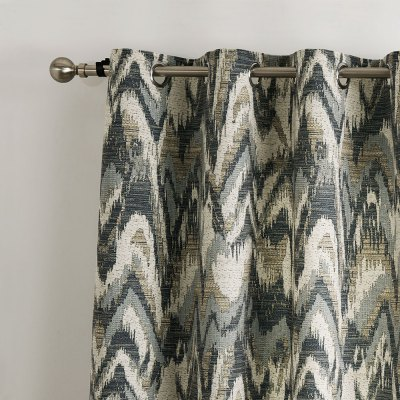 Ink-jet Printing Wavy Pattern Window Curtain 52 x 63 inchWindow Treatments<br>Ink-jet Printing Wavy Pattern Window Curtain 52 x 63 inch<br><br>Category: Curtain<br>For: All<br>Material: Polyester fibre<br>Occasion: Bedroom, Dining Room, Living Room<br>Package Contents: 1 x Window Curtain Panel, 1 x Tieback<br>Package size (L x W x H): 70.00 x 50.00 x 2.50 cm / 27.56 x 19.69 x 0.98 inches<br>Package weight: 0.9300 kg<br>Product weight: 0.8000 kg<br>Type: Eco-friendly, Decoration
