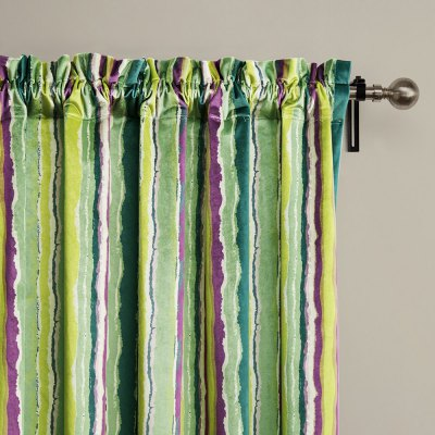 Ink-jet Printing Colorful Stripes Window Curtain 52W x 84LWindow Treatments<br>Ink-jet Printing Colorful Stripes Window Curtain 52W x 84L<br><br>Category: Curtain<br>For: All<br>Material: Polyester fibre<br>Occasion: Bedroom, Dining Room, Living Room<br>Package Contents: 1 x Window Curtain Panel, 1 x Tieback<br>Package size (L x W x H): 70.00 x 50.00 x 2.50 cm / 27.56 x 19.69 x 0.98 inches<br>Package weight: 1.0300 kg<br>Product weight: 0.9000 kg<br>Type: Eco-friendly, Decoration