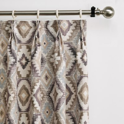 Ink-jet Printing Geometric Pattern Window Curtains 52 x 96 inchWindow Treatments<br>Ink-jet Printing Geometric Pattern Window Curtains 52 x 96 inch<br><br>Category: Curtain<br>For: All<br>Material: Polyester fibre<br>Occasion: Dining Room, Living Room<br>Package Contents: 2 x Window Curtain Panel, 2 x Tieback<br>Package size (L x W x H): 70.00 x 50.00 x 2.50 cm / 27.56 x 19.69 x 0.98 inches<br>Package weight: 2.2300 kg<br>Product weight: 2.0000 kg<br>Type: Eco-friendly, Decoration