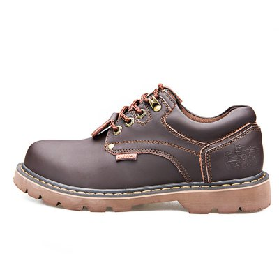 Chic British Style Leather Shoes for MenMens Boots<br>Chic British Style Leather Shoes for Men<br><br>Closure Type: Lace-Up<br>Color: Deep Brown<br>Contents: 1 x Pair of Shoes<br>Function: Slip Resistant<br>Materials: Rubber, Leather<br>Occasion: Casual<br>Package Size ( L x W x H ): 33.00 x 22.00 x 11.00 cm / 12.99 x 8.66 x 4.33 inches<br>Package Weights: 0.97kg<br>Seasons: Autumn,Spring,Summer<br>Size: 39<br>Style: Leisure, Fashion, Comfortable<br>Type: Casual Shoes