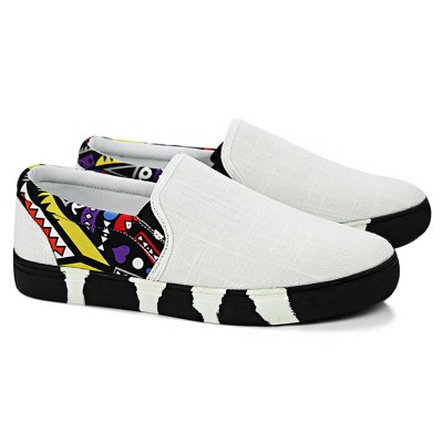 Cycling / Climbing Fashion Flat Shoes for MenCasual Shoes<br>Cycling / Climbing Fashion Flat Shoes for Men<br><br>Closure Type: Slip-On<br>Contents: 1 x Pair of Shoes<br>Materials: Canvas, Mesh, Rubber<br>Occasion: Daily, Casual<br>Outsole Material: Rubber<br>Package Size ( L x W x H ): 31.00 x 21.00 x 11.00 cm / 12.2 x 8.27 x 4.33 inches<br>Package Weights: 0.84kg<br>Seasons: Autumn,Spring,Summer<br>Style: Fashion, Casual<br>Type: Flat Shoes
